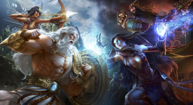 Reminder: SMITE for PS4 launches May 31