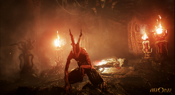 Agony, a survival horror announced for release in 2017