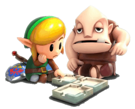 links awakening legend of zelda art review checkpoint gaming omi