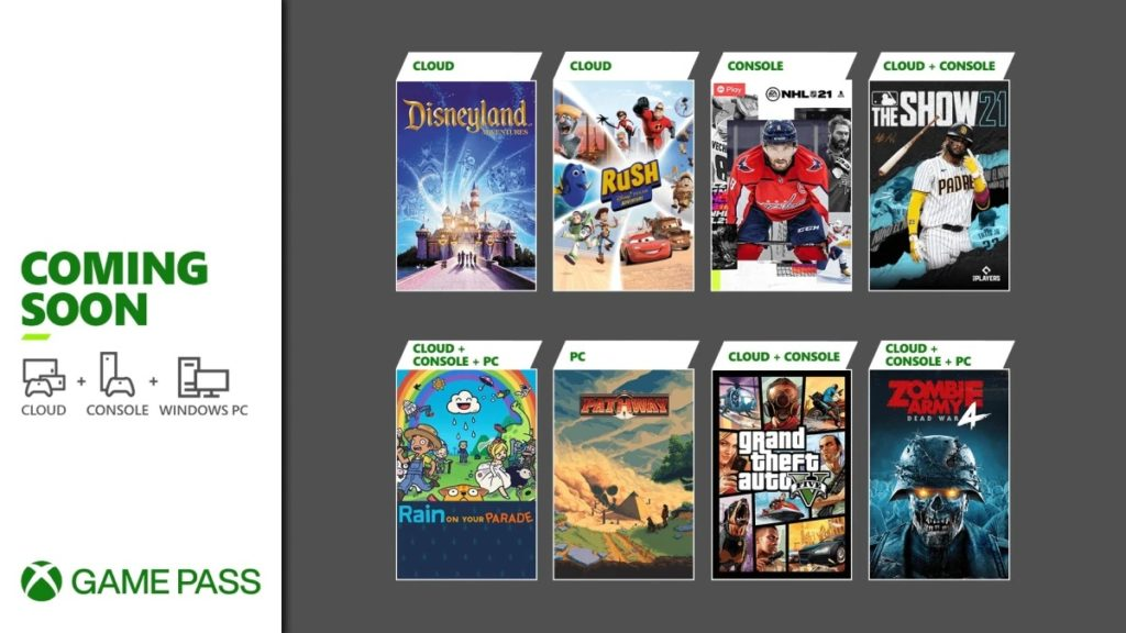 The games coming soon to Xbox Game Pass
